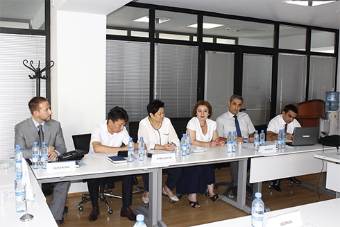 Workshop in Tbilisi