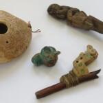 Французская таможня передает Перуанским властям изъятые археологические предметы