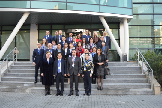 Successful Meeting of the WCO Europe Region National Contact Points for Capacity Building